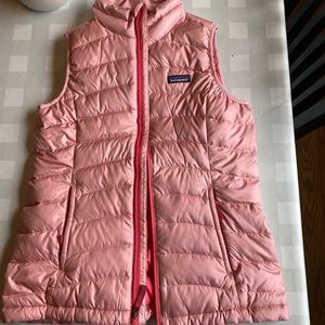 Patagonia Down Sweater Vest Pink NEW WITH TAG